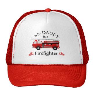 Camion de pompiers - mon papa est SAPEUR-POMPIER Casquette De Camionneur
