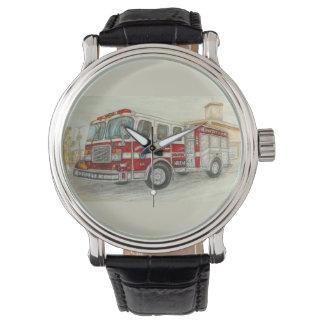 """""""Camion de pompiers """" Montre"""