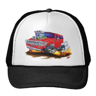 Camion de rouge de H2 de Hummer Casquette