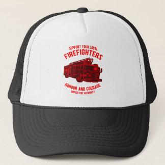 Camion de sapeurs-pompiers casquette