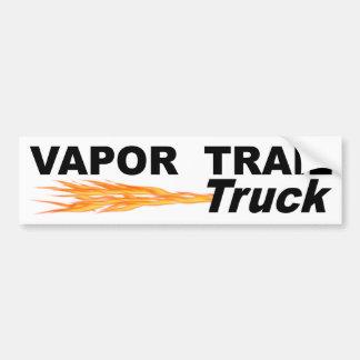 Camion de traînée de vapeur autocollant de voiture