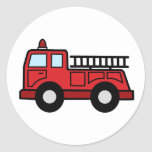 Camion de véhicule de secours de Firetruck de Adhésif Rond