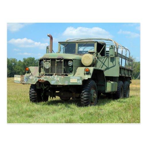 camion en surplus militaire du cru 6x6 cartes postales zazzle. Black Bedroom Furniture Sets. Home Design Ideas