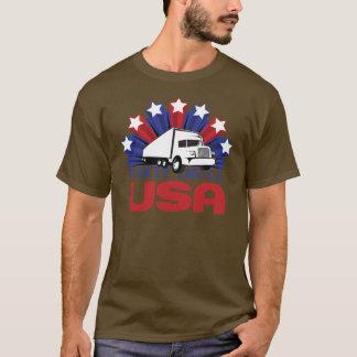Camion Etats-Unis de partie T-shirt