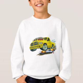Camion jaune de Dodge SRT10 Sweatshirt