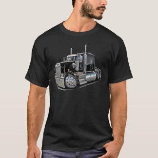 Camion noir de Kenworth w900 T-shirt