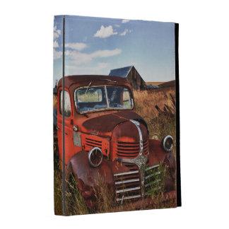 Camion orange de rouillement de Dodge avec la Coque iPad