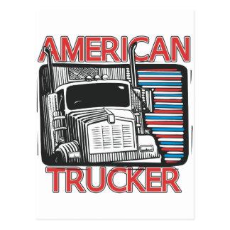 Camionnage américain carte postale