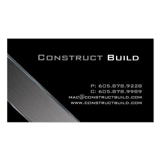 Camionnage de construction de carte de visite en m zazzle for Carte visite construction