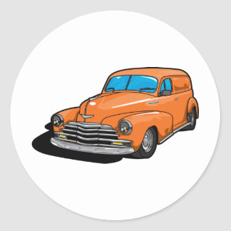 Camionnette Sticker Rond