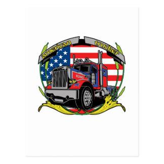 Camionneur américain cartes postales