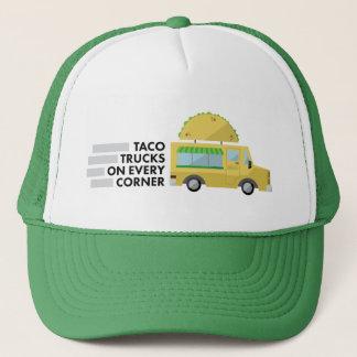 Camions de taco sur chaque casquette faisant le