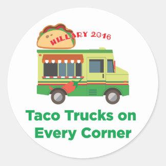 Camions de taco sur chaque coin : Autocollant 2016
