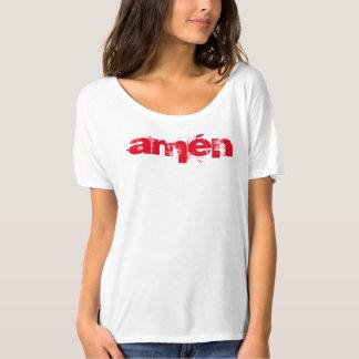 """Camiseta """"amén """" t-shirts"""