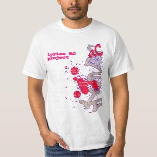 Camiseta Lyrics_RCproject T-shirts