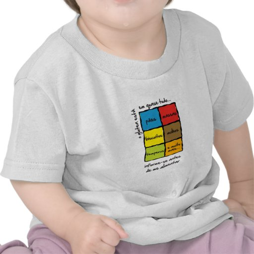 Camiseta Para Bebes : Alerta Para Glúten T-shirt