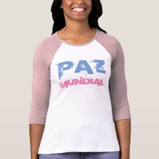 "Camiseta ""Paz Mundial "" T-shirts"