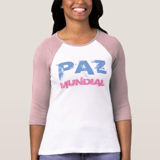 "Camiseta ""Paz Mundial "" T-shirt"