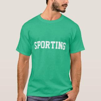 """Camisola folâtrant COM Nome "" T-shirt"
