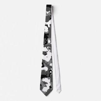 Camo arctique cravates customisées