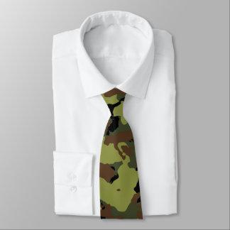 Camo militaire vert cravates