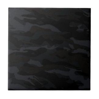 Camo noir carreau