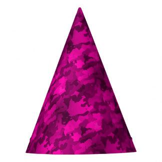 Camo rose chapeaux de fètes