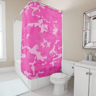 Camo rose rideaux de douche