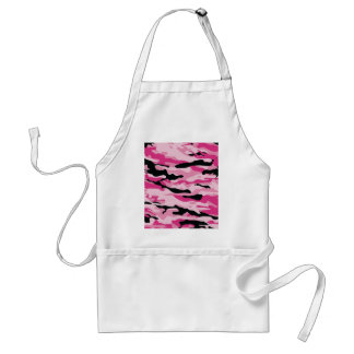 Camo rose tablier