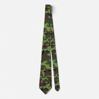 Camo vert cravate