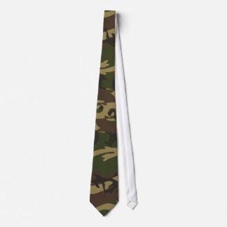 Camo vert poussiéreux cravates