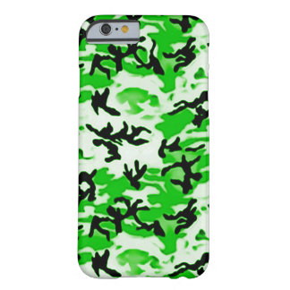 Camo vert psychédélique coque barely there iPhone 6