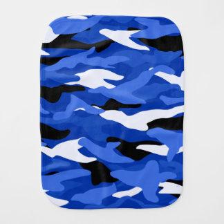 Camouflage bleu linges de bébé