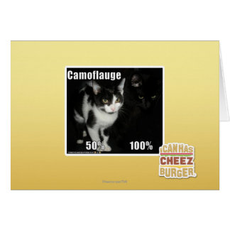 Camouflage Cartes