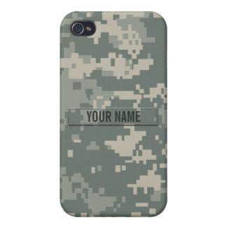 Camouflage d'ACU d'armée personnalisable Coque iPhone 4/4S