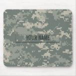 Camouflage d'ACU d'armée personnalisable Tapis De Souris