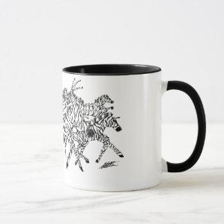 Camouflage de confusion de zèbre - tasse