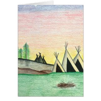 Camp Carte De Vœux