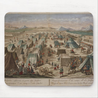 Camp militaire, c.1780 tapis de souris