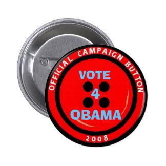 "Campagne ""bouton "" d'Obama Badge"