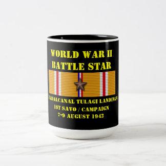 Campagne d'atterrissages de Guadalcanal Tulagi (ęr Mug Bicolore