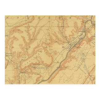 Campagne de Chattanooga Carte Postale