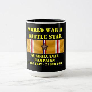 Campagne de Guadalcanal Mug Bicolore