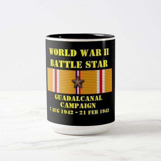Campagne de Guadalcanal Tasses À Café