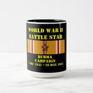 Campagne de la Birmanie Mug Bicolore