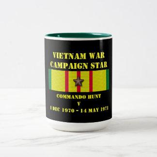 Campagne de la chasse V à commando Mug Bicolore