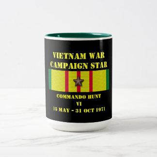 Campagne de la chasse VI à commando Mug Bicolore