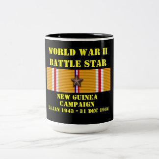 Campagne de la Nouvelle-Guinée Mug Bicolore
