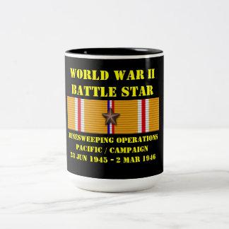 Campagne de Pacifique d'opérations de dragage de m Mug Bicolore