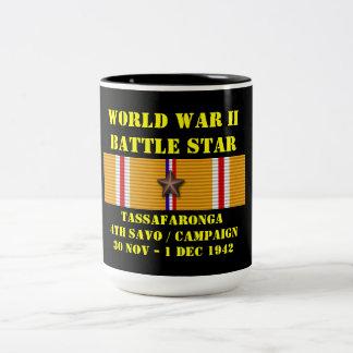 Campagne de Tassafaronga (quatrième Savo) Mug Bicolore